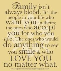 in i ve learned that family doesn t to be those who