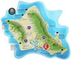 Honolulu Airport Map Envy Honolulu Car Rental U2014 Rent A Car For Cheap In Hawaii Oahu