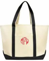 bridesmaid tote bags amazing deal monogrammed boat tote bridesmaid tote bag