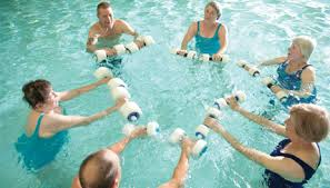 therapy classes aquatic therapy