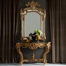 console table and mirror set gold rococo console table and mirror set mirror set rococo and