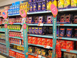 easter eggs sale chocolate easter eggs on sale editorial photography image of