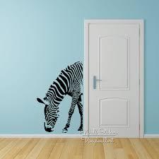 stickers animaux chambre b bébé pépinière zèbre wall sticker zebra sticker animaux mur