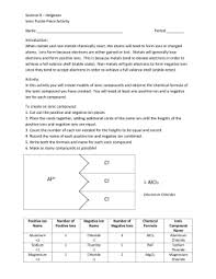 writing the names and formulas of ionic compounds worksheet