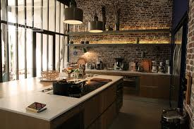 cuisine loft loft with interior patio clav0024 agence mayday scouting