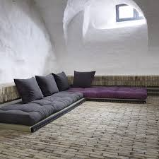 futon canapé canapé design tatami caroki avec futon matelas