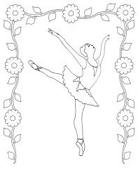 ballerina bunny coloring page alltoys for