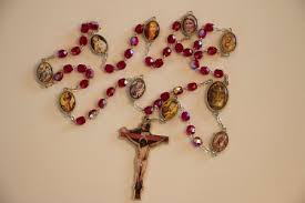 chaplet of the holy welcome to the holy association
