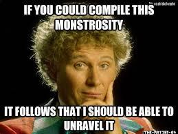 Who Meme - wordy sixth doctor meme by the artist 64 on deviantart