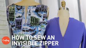 how to sew an invisible zipper step by step sewing tutorial with