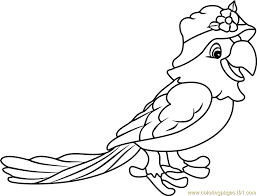 parrot coloring pages papaya parrot coloring page free strawberry shortcake coloring