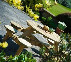 Build A Round Picnic Table by Exteriors Outdoor Picnic Bench Nice Picnic Tables Barbecue Table
