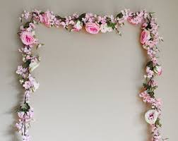 wedding backdrop garland eucalyptus garland wedding garland flower backdrop