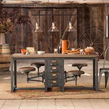 Rustic Vintage Dining Area Antique Rustic Furniture Cafeteria Table Antique Rustic Antique