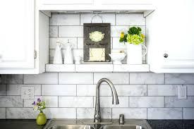 subway tiles for backsplash in kitchen marble tile backsplash kitchen marble subway tile spaces