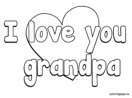 i love you grandma coloring pages funycoloring