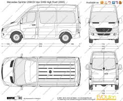 Sprinter Dimensions Interior Mercedes Benz Sprinter 209 2010 Technical Specifications