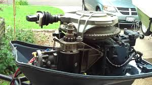 1969 evinrude sport 25hp youtube