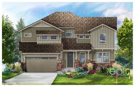 Tuscan Home Plans Ascend Two Story Floor Plan In Leyden Rock Arvada Co