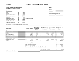 7 sample invoice for services rendered short paid invoice