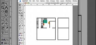 Program To Draw Floor Plans How To Create A Fully Furnished Floor Plan With Macdraft