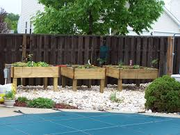 Type Of Wood For Raised Garden Raised Garden Bed On Legs 3 Steps