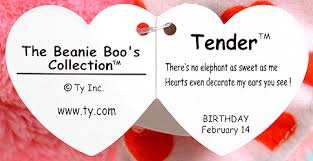 tender medium ty beanie boo