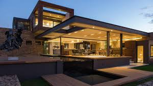 Mansion Design This Contemporary Mansion In South Africa Blends Luxury With