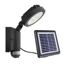 diy solar flood light nevada black diy 4w led solar exterior flood light with sensor