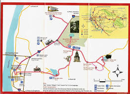 Coc Maps Tourist Map Of Savannakhet Laos