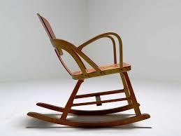 mid century modern rocking chair wood mid century modern rocking