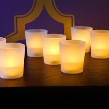 lights com flameless candles tea lights votives warm white open image