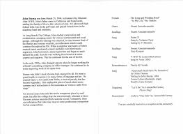 order of service funeral template word pamphlet template free