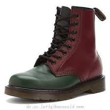 s boot newest canada s dr martens 1460 8 eye boot green cherry black yello