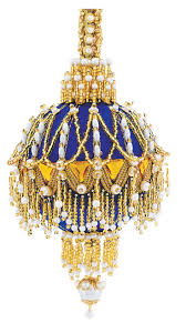 17 best images about ornaments blue on pinterest beaded
