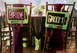 and groom chair signs 20 unique chair signs for the and groom