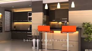 Kitchen Set Interior Kitchen Set Dan Minibar Minimalist Modern Yogyakarta