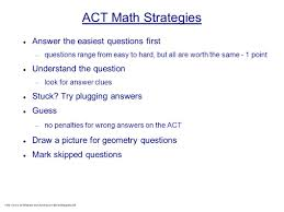 act math section review dr michael zelin spring hill library may
