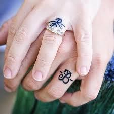 wedding ring tattoos 40 sweet meaningful wedding ring tattoos