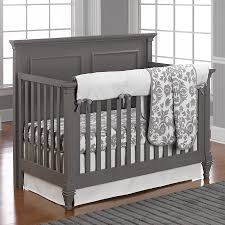 Colors That Go With Gray Walls by Dark Grey Crib With Light Grey Walls Mackenzies Room Pinterest