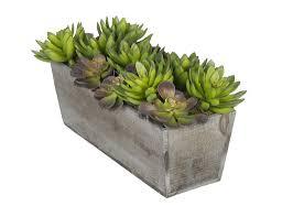 house of silk flowers artificial succulent garden desk top plant