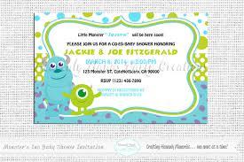 monster invitation little monsters baby shower digital invitation