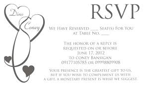 wedding invitations rsvp wording how to rsvp to a wedding invitation by email wording amulette