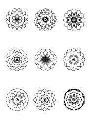 more mini mandalas to color ilah u0027s blog about mandalas and art