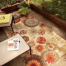 cleaning outdoor rugs mohawk home printed indoor outdoor medallion multi area rug