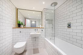 shower tub combo bathroom industrial with recessed lighting metro