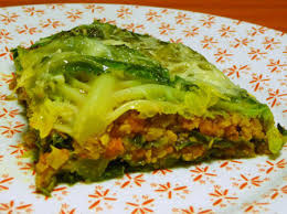 cuisiner du chou vert chou farci végétarien la table verte