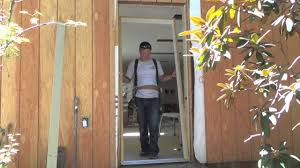 diy exterior door how to install a pre hung door steel door exterior door diy how to