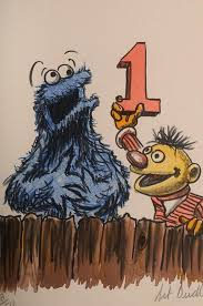 igavel auctions art dudley sesame street color lithograph fr3sh