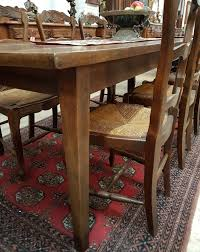antique french cherrywood dining table french antiques melbourne